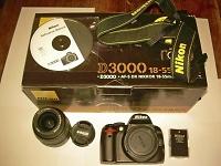 Selling : Nikon D3000 Kit with 18-55mm VR lensNikon D3000 Kit with 18-55mm VR lens