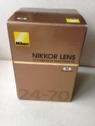 Classified :  Nikon AF-S Nikkor 24-70mm f/2.8G ED Lens