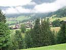 Overlooking Alpbach village