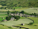 Approaching Muker, in Swaledale.