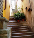 So many hidden treasures to discover in the old town. Narrow street and lots of stairways to heaven!