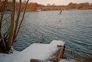 Across the Dinton Lake
