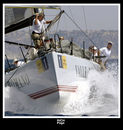 "TP52 ""Rush"" From The USA - Tom Stark. Sailing in the 2006 Breitling MedCup.  Location; Copa Del Ray, Kings Cup Royal Palma"