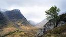 A storm clears Glen Coe Scotland