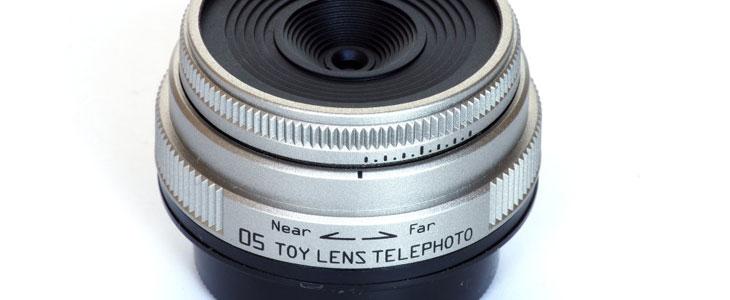 Pentax toy lens