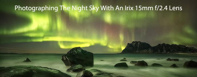 Irix 15mm lens