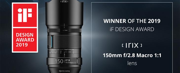 Irix product design award