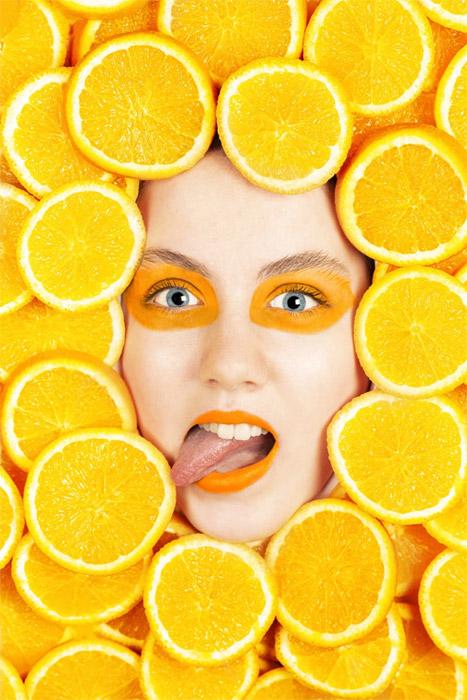 Life tastes of orange