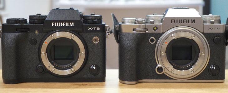 X-T3 vs X-T4