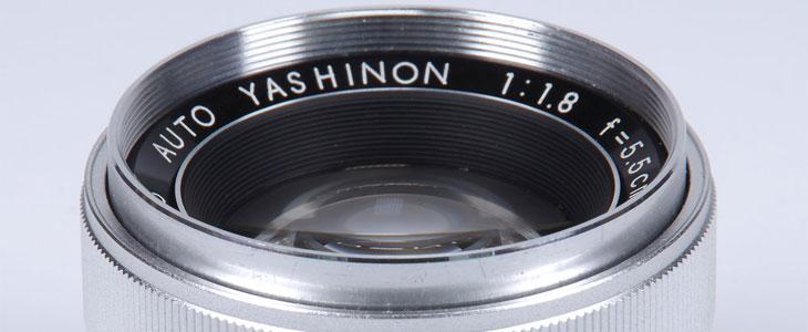 Yashika lens