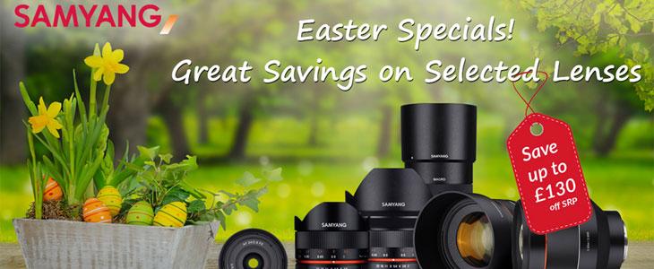 Samyang Easter specials