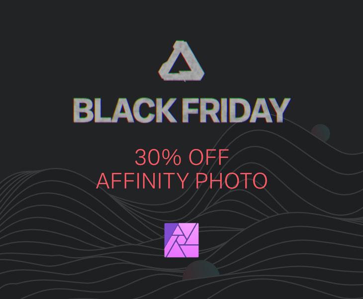Black Friday Affinity Photo offer