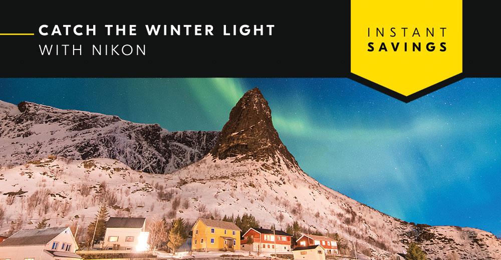 Nikon Winter Instant Savings Promotion - Save Up To £360!