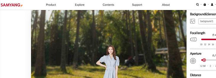 Samyang Lens Simulator Review