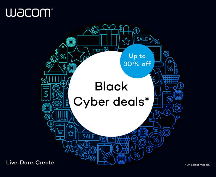 Wacom Black Cyber Deals