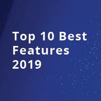 Top 10 Best Features Of 2019