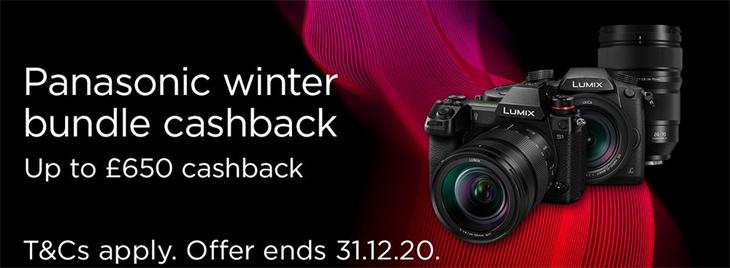 Claim Up To £650 Cashback With Panasonic