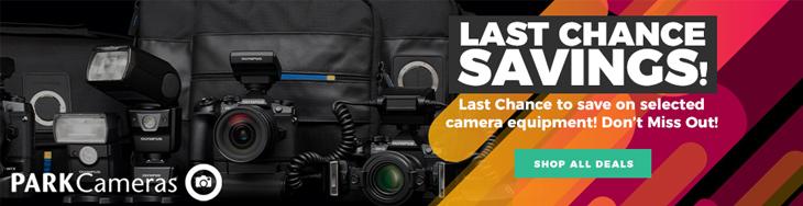 Park Cameras: Amazing Savings On Canon, Panasonic, Olympus, Sony & More End Soon!
