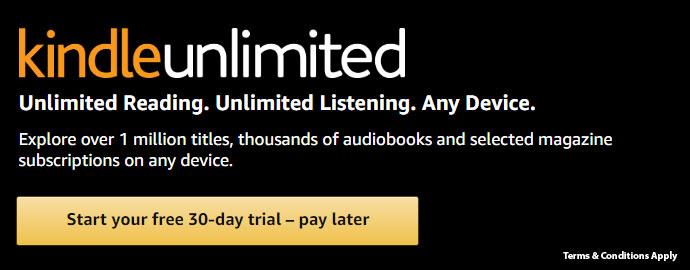 Kindle Unlimited Offer