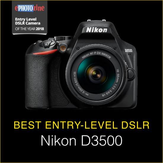 Best Entry-level DSLR Nikon D3500