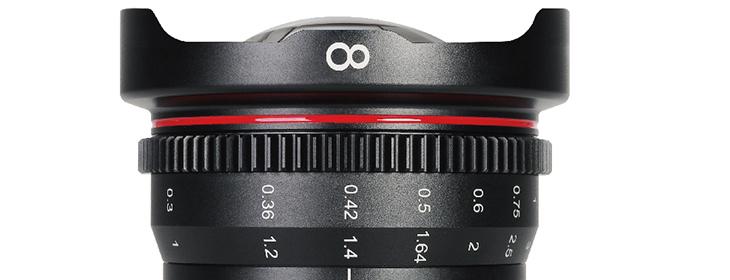 Meike 8mm T/2.9 Mini-Prime Cine Lens for MFT-Mount Cameras Announced