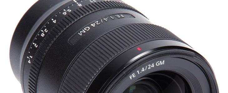 Landscape photography lenses