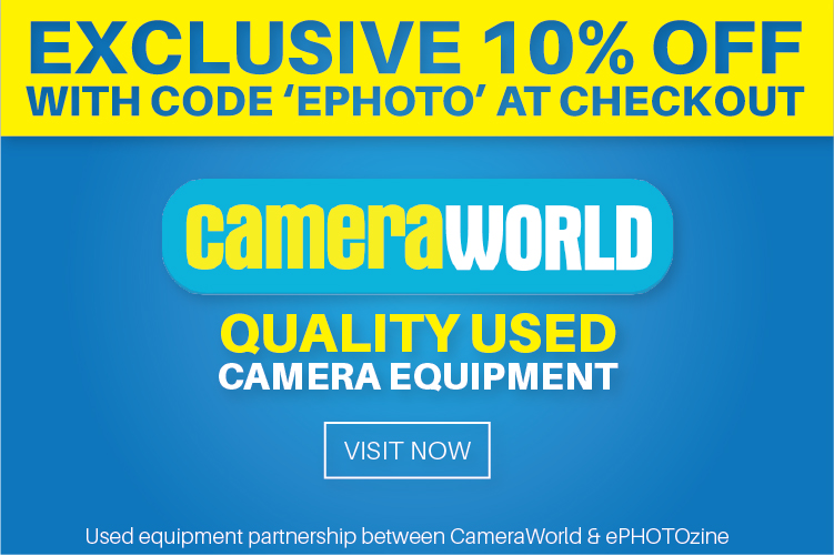 ePHOTOzine members can currently save 10% on their used photography gear purchases!