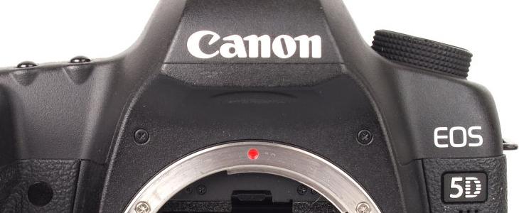 Used Canon EOS 5D Mark II DSLR Camera Body