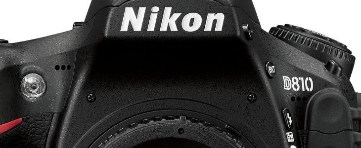 Used Nikon D810 DSLR Camera Body