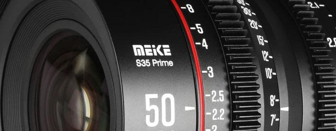 Meike 50mm T2.1 S35 Prime CINE Lens For EF And PL Mount
