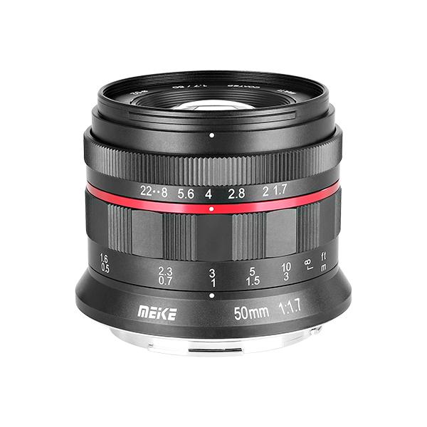 Meike 50mm f/1.7 lens