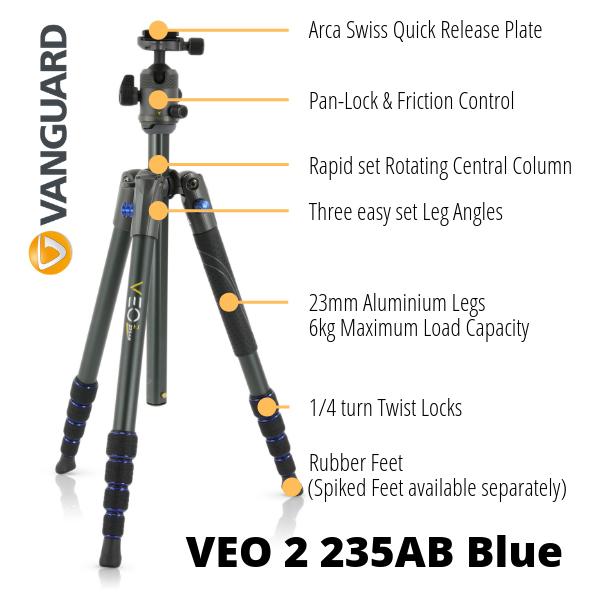 Vanguard VEO 2 Blue Whats Hot