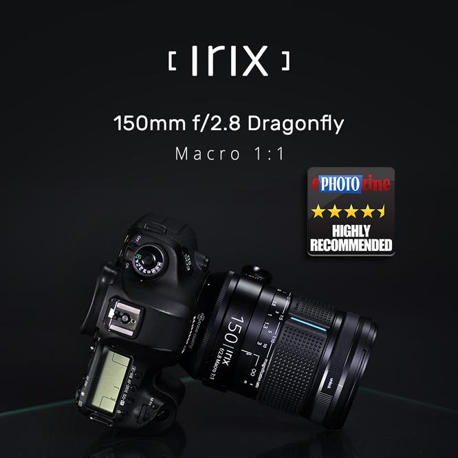 Irix 150mm dragonfly lens