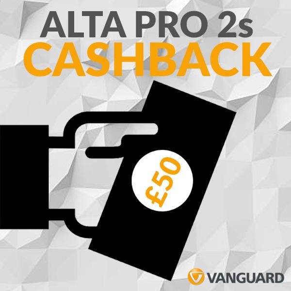 Alta Pro 2 cashback