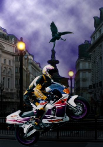biker manic by spiller