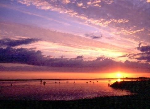 SUNSET ON WALNEY CHANNEL   BARROW IN FURNESS by STUARTHILL758