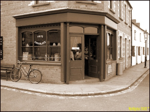 Corner Sweetshop by Tinman