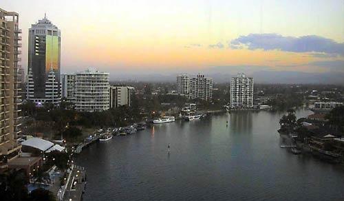 Nerang River @sunset ..Gold Coast  Australia by centur