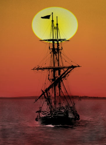 SUNSET IN THE RIGGING by STUARTHILL758