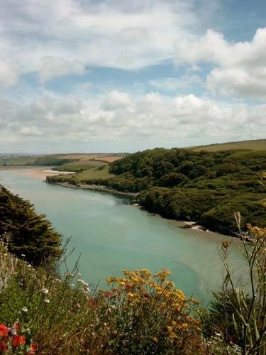 River Gannel, Cornwall by heidi