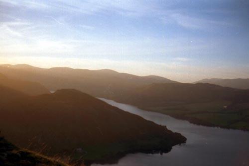 Ullswater from Swath Fell by heidi