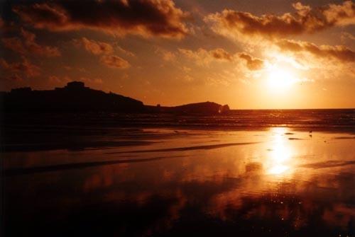 Golden Evening by heidi