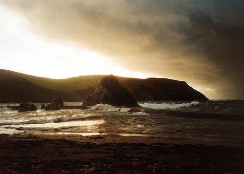Stormy Evening by heidi