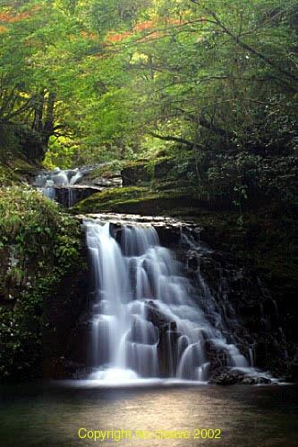 Autumn waterfall by nicanddi