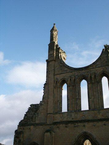 Byland Abbey,2 by Rock