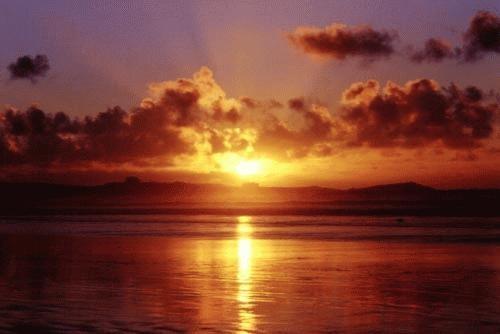 Winter Sunset by heidi