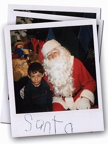 Me \'n\' Santa by J-P