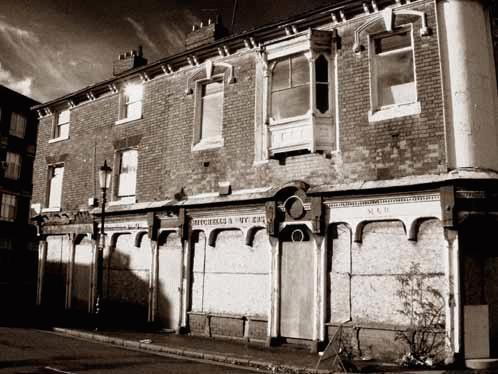 DERELICT PUBLIC HOUSE by MARK JONES