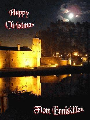 Happy Christmas from Enniskillen by Mavis