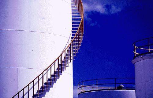 Oil Refinery II by J-P